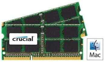 Crucial SODIMM DDR3 8GB (2x4GB) 1066MHz CT2C4G3S1067MCEU; CT2C4G3S1067MCEU