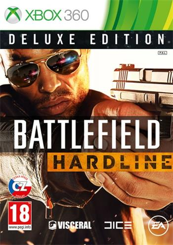X360 Battlefield Hardline Deluxe Edition