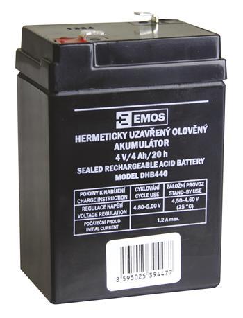 Bezúdržbový olověný akumulátor DHB440 pro svítilny P2306