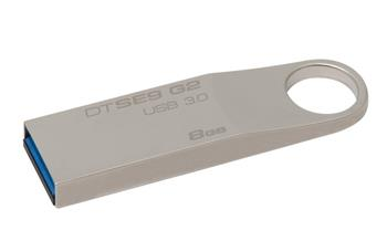 Kingston 8GB DataTraveler SE9, USB 3.0 - flash disk