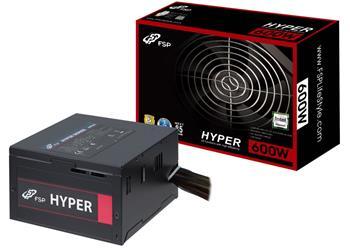 Fortron HYPER 600, 600W, PCI-E, >85%; PPA6003701