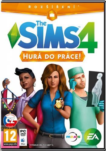 PC The Sims 4 - Hurá do práce - rozšíření