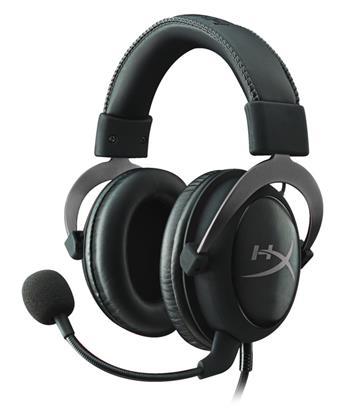 HyperX Cloud II Headset , 7.1 Surr, GunMetal