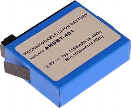 Baterie T6 power AHDBT-401; VCGO0003