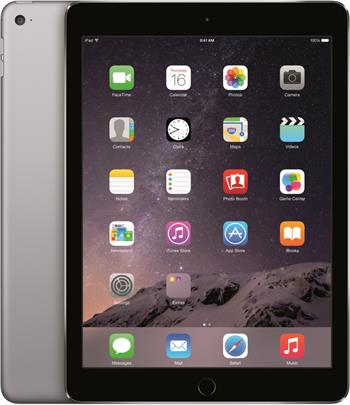 Apple iPad Air 2 Wi-Fi 128GB Space Gray; MGTX2FD/A