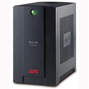 APC Back-UPS 700VA, 230V, AVR, French Sockets; BX700U-FR