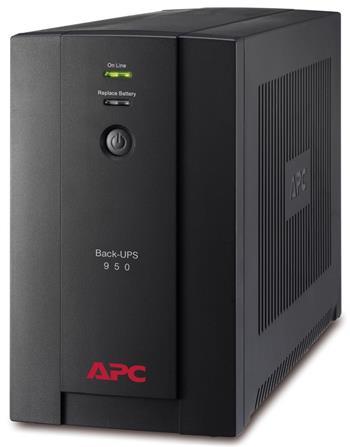 APC Back-UPS 950VA, 230V, AVR, French Sockets; BX950U-FR