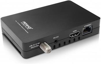 AMIKO DVB-S2 přijímač Micro HD SE CX LAN PVR - satelitní příjmač; DBSAMHC024