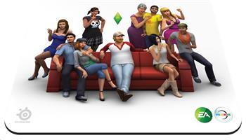 SteelSeries QcK Sims 4 Edition, podložka pod myš