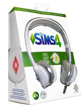 SteelSeries Sims 4 Gaming Headset, herní sluchátka