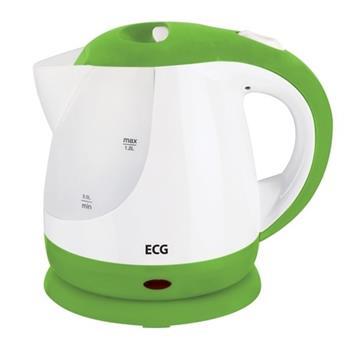 ECG RK 1210 - rychlovarná konvice, zelená 1,2 litru