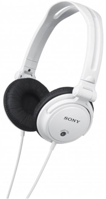 SONY MDR-V150, bílá