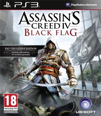 PS3 Assassins Creed IV Black Flag Essentials