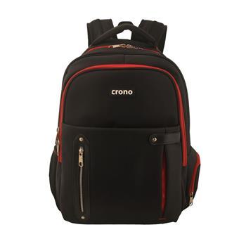 "Crono Dakota - batoh na notebook 15.6"", černý + červený; CB00160"
