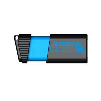 Patriot 128GB Supersonic Rage2 USB 3.0 400/300MB/s; PEF128GSR2USB