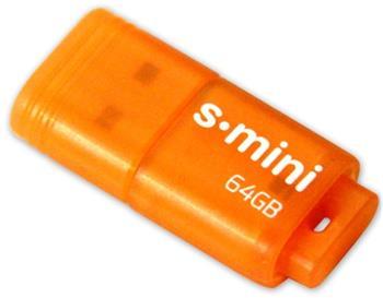 Patriot 64GB S-mini USB 3.0 oranžový (až 80MB/s); PSF64GSMUSB