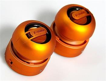 X-MINI ™ MAX STEREO CERAMIC ORANGE