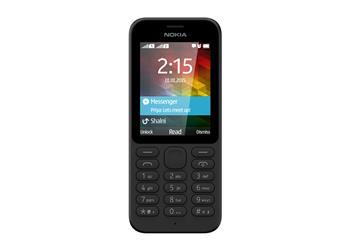 Nokia 215 Black Dual SIM
