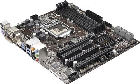ASROCK MB Z87M PRO4 (intel 1150, 4xDDR3 2800, VGA+DVI +HDMI, USB3, SATA3R, 7.1, GLAN, mATX)
