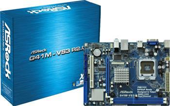 ASROCK MB G41M-VS3 R2.0 (775, intel, DDR3, VGA, PCIE SATA2+IDE, 5.1, LAN, mATX); G41M-VS3 R2.0