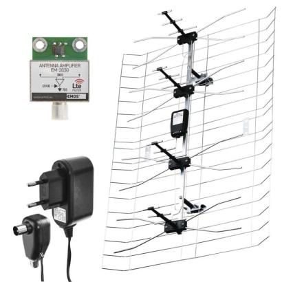 TV anténa ASP-30 DB VHF/UHF