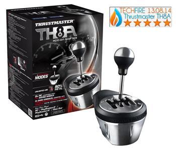 Thrustmaster Řadící páka TH8A Shifter pro PC, PS3, PS4 a XONE