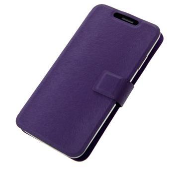 """Pouzdro BOOK ULTRA velikost M (4""""- 4,5"""") violet; PBOULTRAMVL"""
