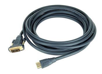 Gembird HDMI - DVI male-male kabel (pozlacené konektory 18+1) 0.5m