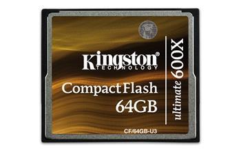 Kingston 64GB Compact Flash (CF) 600x Ultimate
