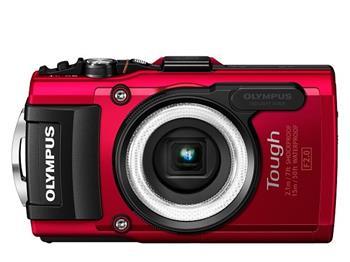 Olympus TG-4 červený ; V104160RE000