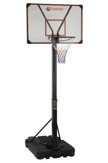 Koš basketbalový Garlando SAN DIEGO se stojanem, výška 225-305cm