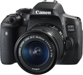 Canon EOS 750D + 18-55mm IS STM ; 0592C025