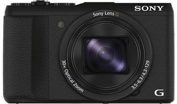 Sony DSC-HX60 černá,20,4Mpix,30xOZ,WiFi; DSCHX60B.CE3