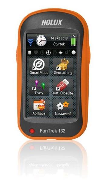 HOLUX Funtrek 132 CZ/SK + TM CZ 25; 97153-10N-mapy25