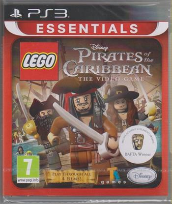 PS3 LEGO Pirates of the Caribbean Essentials; 8717418392758