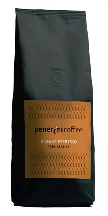 Čerstvě pražená káva PENERINI RISERVA ESPRESSO 100% arabika 500g; KAVA