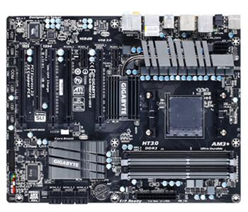 GIGABYTE MB GA-990FXA-UD3 (AM3+, amd, DDR3, SATA3+SATA6+eSATA, USB3, 7.1, GLAN, IEEE1394, ATX) - základní deska