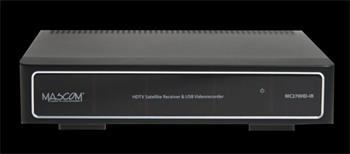 Mascom MC270 HDIR-USBPVR SILVER panel - satelitní přijímač; MASC270