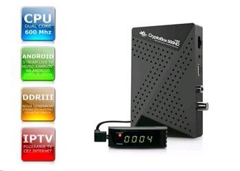 AB CryptoBox 600 HD mini - satelitní příjmač