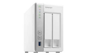 QNAP TS-231 Turbo NAS server, 1,2 GHz DC / 512MB / 2x HDD / 2xGL / USB 3.0 / Raid 0,1 / iSCSI