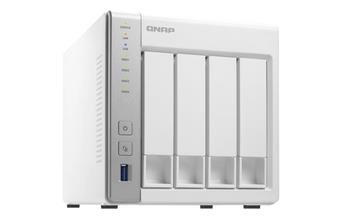 QNAP TS-431 Turbo NAS Server, 1,2 GHz DC / 512MB DDR3 / 4x HDD / 2xGL / USB 3.0 / R0,1,5,6 / iSCSI