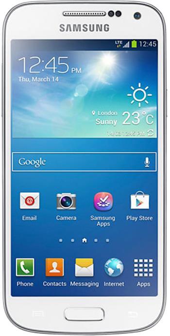 Samsung Galaxy S4 mini VE i9195I, bílá; GT-I9195ZWIETL
