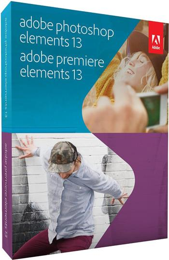 Adobe Photoshop & Premiere Elements v13 WIN/CZ; 65234962