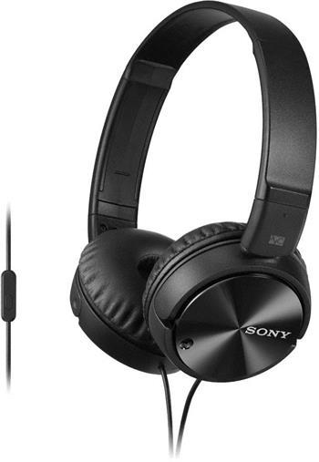 SONY MDR-ZX110NA, černá; MDRZX110NAB.CE7