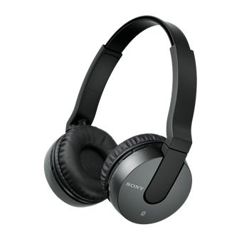 SONY MDR-ZX550BN - bezdrátová sluchátka, černá