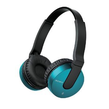 SONY MDR-ZX550BN - bezdrátová sluchátka, modrá