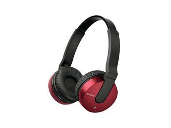 SONY MDR-ZX550BN - bezdrátová sluchátka, červená