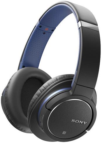SONY MDR-ZX770BN, bezdrátová sluchátka, modrá; MDRZX770BNL.CE7