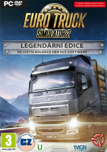 PC Euro Truck Simulator 2: Legendární edice; 8592720122282