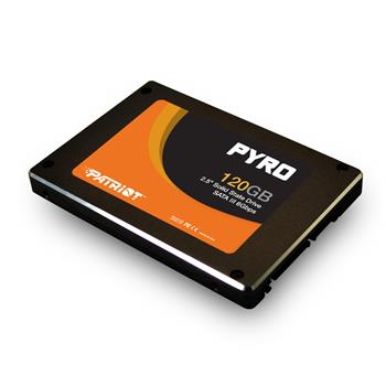 Patriot SSD 120GB PYRO 550/530MBs 85K; PP120GS25SSDR
